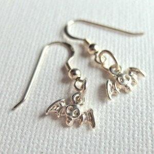 E008 - Bat Earrings